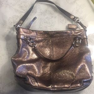 Coach metallica style purse